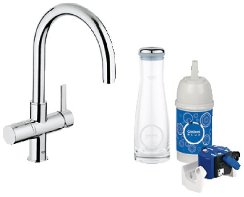 grohe blue pure dual function kitchen faucet. Black Bedroom Furniture Sets. Home Design Ideas