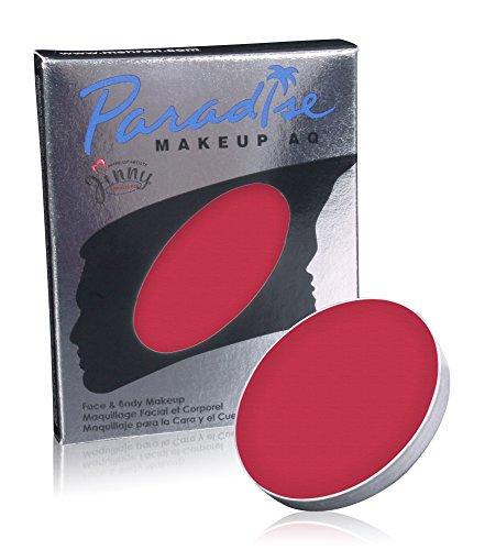 Mehron Makeup Paradise Makeup AQ Refill (.25 oz) (RED)