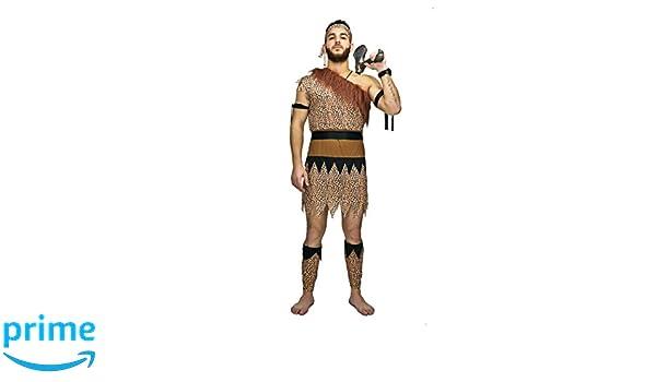 SEA HARE Disfraz de Hombre de Las Cavernas Original para Hombres ...
