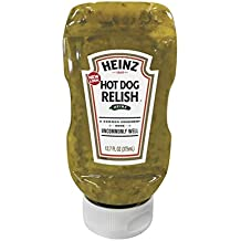 Heinz Hot Dog Relish, Squeeze Bottle, 12.7 Ounce (Pack of 12)