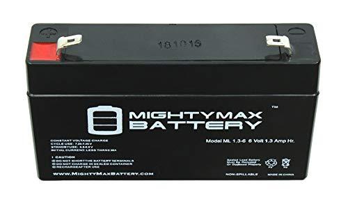 Batería Mighty Max 6V 1.3AH SLA reemplaza a la marca Perego Ducati 1098 -IGED0913US Producto de marca