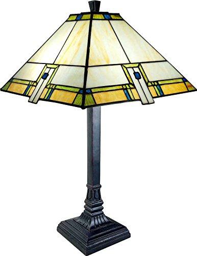 ts Mission Style Tiffany LAMP TLE-2-B1861 ()