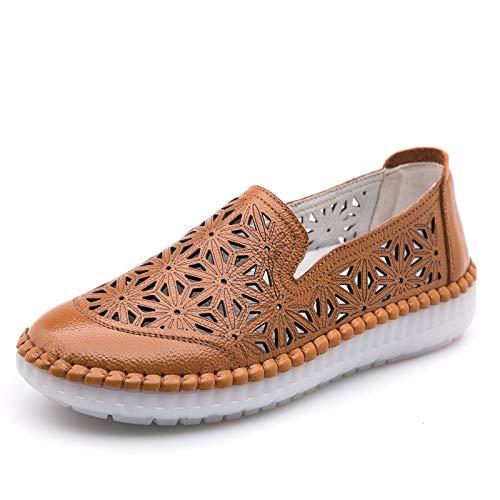 EU Jaune ZHRUI 40 Chaussures Taille Blanc coloré YZFHZx