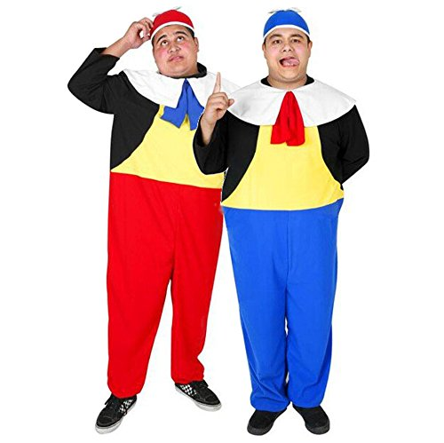 Adult Tweedle Dee & Tweedle Dum Costume -