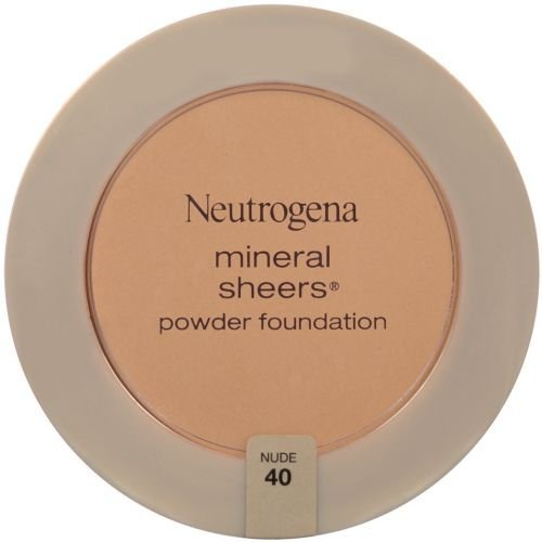 Neutrogena Mineral Sheers Nude Compact Powder Foundation, 0.34 Ounce -- 36 per case.
