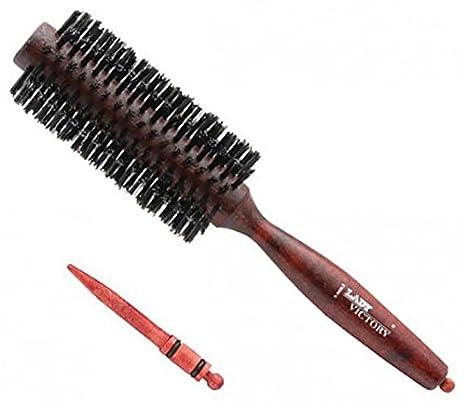 HBW de 06 Cepillo de pelo cepillo redondo Jabalí pelo natural Cepillo madera cepillo: Amazon.es: Bricolaje y herramientas