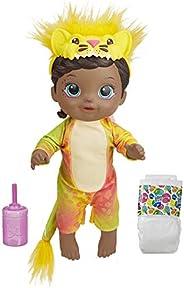 Boneca Baby Alive que Bebe e Faz Xixi - Rainbow Wildcats Leoa (Exclusivo da Amazon) - F1230 - Hasbro