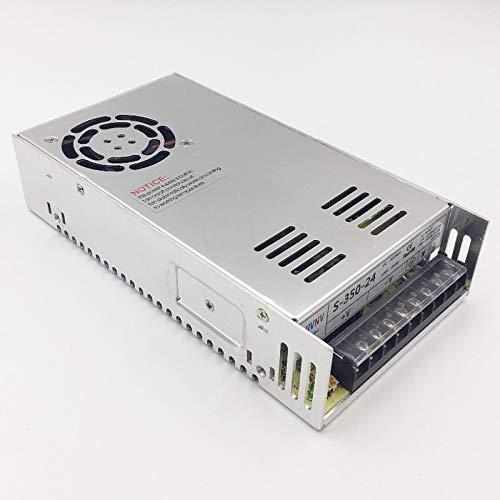 TOOGOO S-350-24 Changer De Source DAlimentation 350W 24V14.6A Ac//Dc Transformateur Conducteur Int/érieur Pour Cnc Machine Diy Etc 24 Volts De Puissance Led