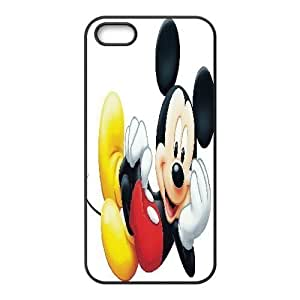 iPhone 5 5s Cell Phone Case Black Mickey Mouse9 Rjhhe