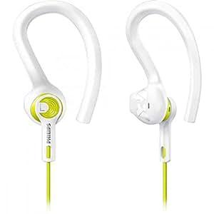 Philips SHQ1400LF/00 Fone de Ouvido Esportivo 3 em 1, Branco