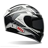 Bell Clutch Adult Qualifier DLX Street Bike Motorcycle Helmet - Black - Large by Bell