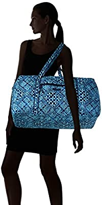 Vera Bradley Large Duffel Framed Bag