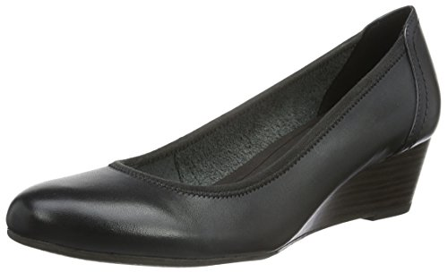 Tamaris WoMen 22320 Closed-Toe Pumps, Black, 3 UK Grey (Anthracite 214)