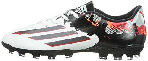 adidas Messi 10.3 Pipe De Barr AG Mens Football Boots (White-Black) White
