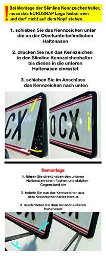 PREIS//ST/ÜCK der dezente Kennzeichenhalter ohne Werbeleiste EU Norm, kupfer 1 ST/ÜCK KENNZEICHENTUNING SLIMLINE /Ö//SLO und EU NORM