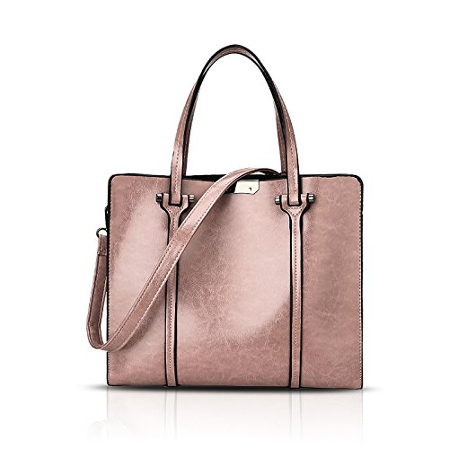 a borsa Rosa borsa moda tracolla signore borsa a 2018 moda nuove Sdinaz olio a tracolla tracolla cerata xqSBnIHaaw