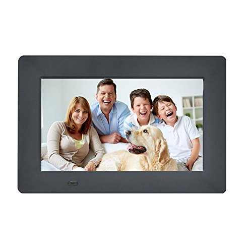 Digital Picture Frame 7-Inches by EMOKILI Digital Photo Frame 1024X600 IPS Screen Resolution with 720P Video Play by EMOKiLi