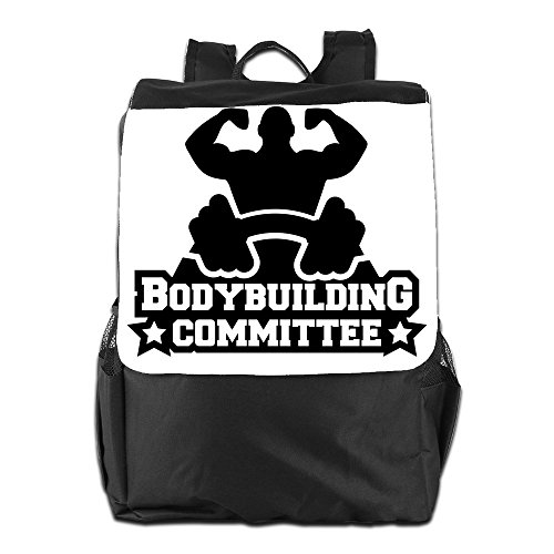 BXXF-Lightweight-Hiking-Backpack-Gym-Bags-Laptop-Bag-Shoulder-Bag-Fashion-Bodybuilding-Committee-Package-Black