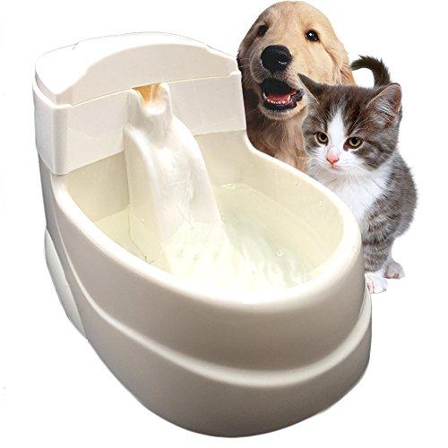Tripolar Trinkbrunnen Wasserspender für Katzen und kleine Hunde