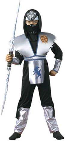 Amazon.com: Sombra lobo de hielo Ninja niño disfraz pequeño ...