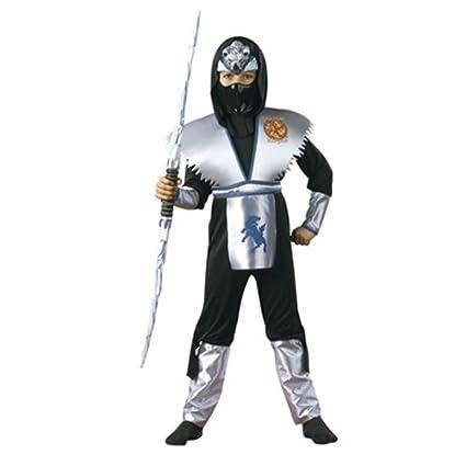 Amazon.com: Boys Shadow Ice Wolf Ninja Costume Deluxe ...