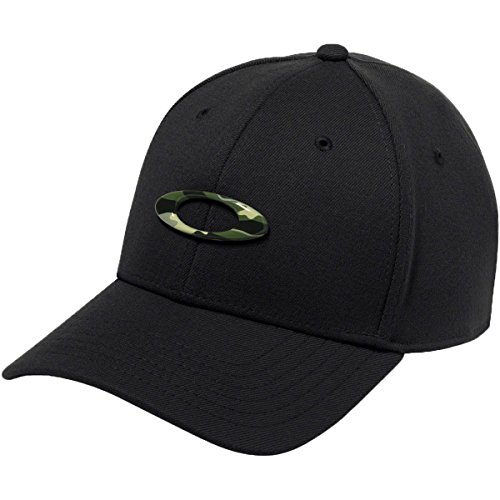 Oakley Men's Tincan Cap Hat, Black/Graphic Camo, - Oakley Camo