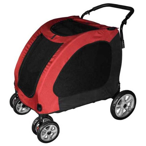 Pet Gear Expedition Pet Stroller – Burgundy or Blue