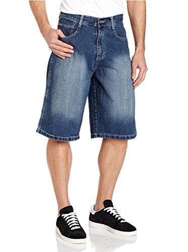 Hot Southpole Men's Core Denim Short (44, Medium Blue Sand) hot sale