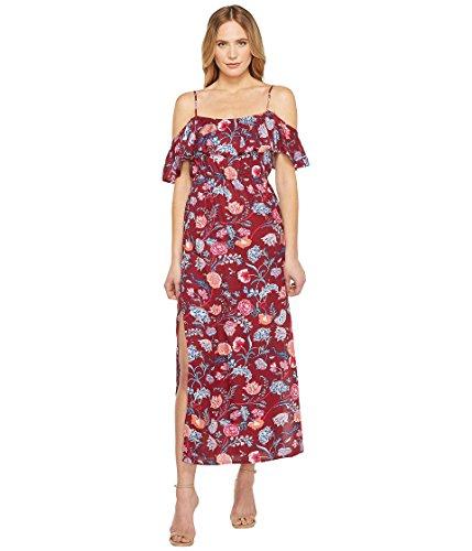 こどもの宮殿便利さ深さ[ラッキーブランド] Lucky Brand レディース Floral Maxi Dress ドレス Red Multi XS (US 0-2) [並行輸入品]