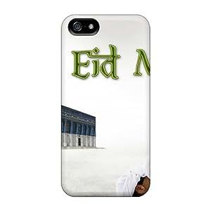New Tpu Hard Case Premium Iphone 5/5s Skin Case Cover(eid Mubarak Namaz)