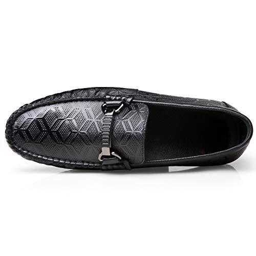 KMJBS Männer Schuhe Männer Lederschuhe Jeden Tag Britische Komfortable Flache Schuhe.
