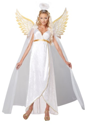 California Costumes Womens Guardian Angel Adult, White, Large