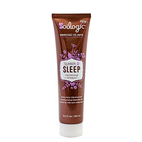 Oilogic Slumber & Sleep Essential Oil Calming Cream Lotion for Baby, Toddler & Kids - Oil Sativum Essential