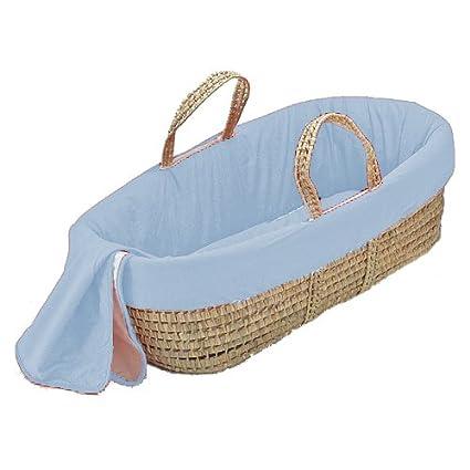 bkb Solid Color Moses Basket, Brown 009243370260