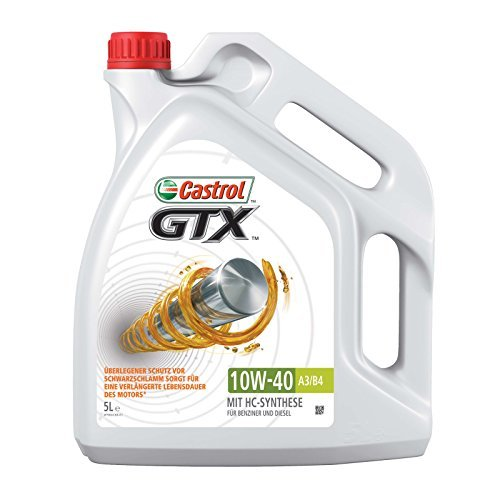 15 opinioni per Castrol GTX 10W40 5 litri