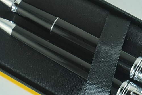 Cross Townsend Limited Edition Series Black Lacquer Tuxedo Selectip Gel Ink Rollerball Pen and Ballpoint Pen Set Rare Combo of Cross Pen Sets by A.T. Cross (Image #5)