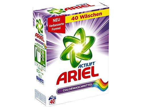- Ariel Powder Laundry Detergent for Colors 2.6kg / 40 Wash Loads