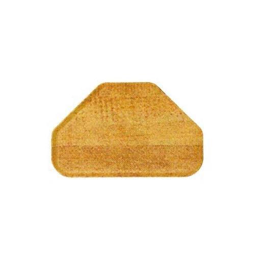 Carlisle 2214WFG094 Fiberglass Glasteel Wood Grain Trapezoid Tray, 22.00
