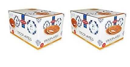 Daelmans Stroopwafels Caramel 1.38 Ounce 24 ct (Pack of 2 = 48 ct) by Daelmans