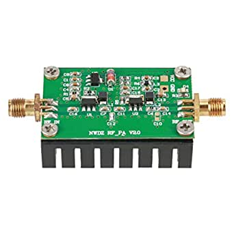 2MHz-700MHZ 3W 15V Amplificador de Rf,HF VHF UHF FM Amplificador de Potencia RF Transmisor RF para Aplicaciones Inalámbricas,Radio FM de Control ...