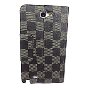 WEV The Beautiful Fang Gewen Pattern PU Leather Full Body Case with Stand for Samsung N7100