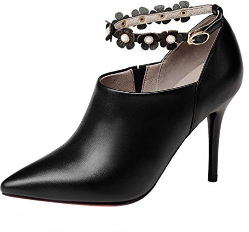 9 Arraysa Chaussures Noir Acgea Escarpins sur Femme Bout nbsp;pointuCM Tirez wvvnx4OIq