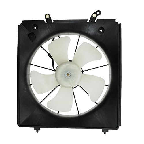 Radiator Cooling Fan Assembly Driver Side for Honda Accord Acura CL TL V6 (Radiator Motor Cooling Side Fan)