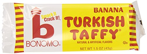 Bonomo Turkish Taffy Bar (Bonomos Turkish Taffy - Banana 24ct.)