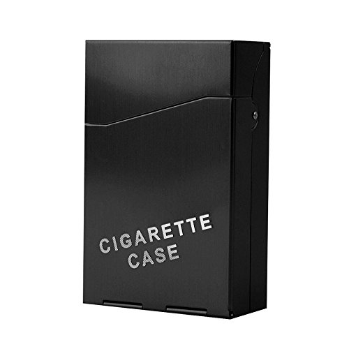 Bleiou 2PCS Aluminum 20 Pieces Cigar Cigarette Tobacco Holder Storage Case Pocket Box Auto High-grade Men's Cigarette case - Case Cigarette High Quality