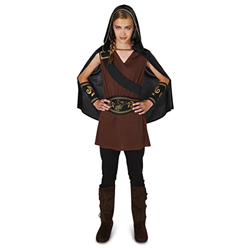 The Huntress Tween Dress Up Costume (Tween Hooded Huntress Costume)