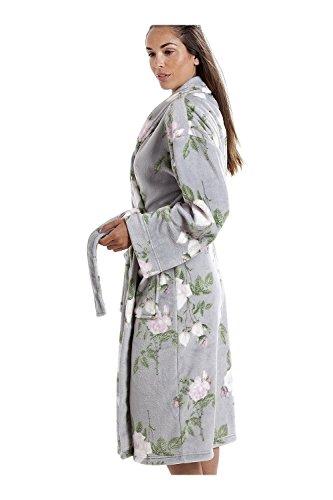 Camille Frauen verschiedene Stil Farbe weichen Fleece Bademan Modern Floral Print gzUvPR70i