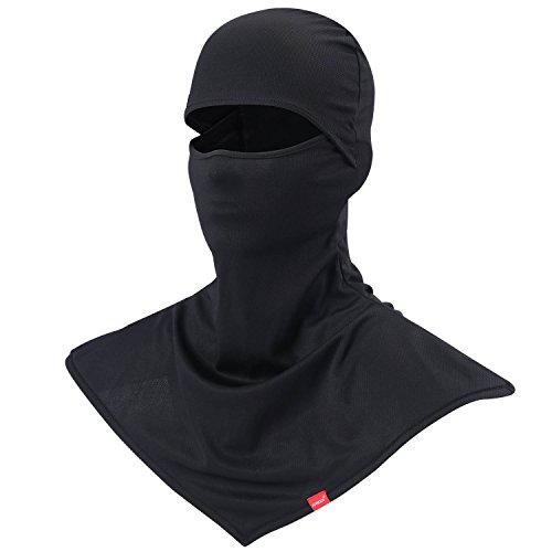 AIWOLV Balaclava - Windproof and Dust Protection Face Mask Breathable Outdoor Sports Cycling and Trekking Neck Cover Hood