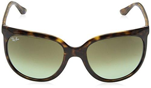 Ray-Ban Women's Cats 1000 Cateye Sunglasses, Havana, 57 mm