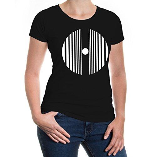 Girlie T-Shirt Doppler effect Black